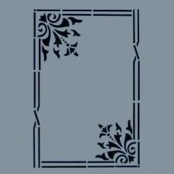 Szablon A4 Cadence AS411 - ramka i ornamenty
