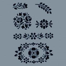 Szablon A4 Cadence AS422 - ornamenty