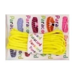 Paracord Parachute cord 550 14 żółty 2,8 m