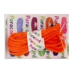 Paracord Parachute cord 550 41 pomarańczowy 2,8 m