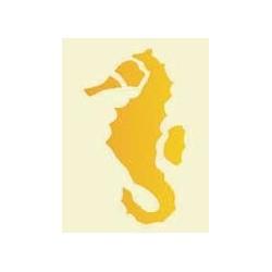 Szablon laserowy 6 x 13,5 cm - konik morski