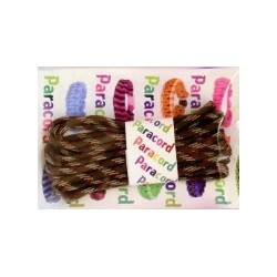 Paracord Parachute cord 550 camouflage 730870 oliwkowo-beżowo-brązowy 2,8 m