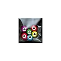 Koraliki kolorowe mix 6 szt.