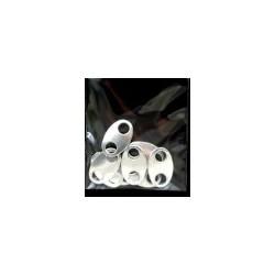 Łączniki płaskie metalowe 22 mm 8 szt.