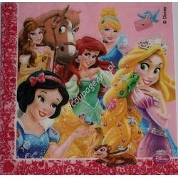 Serwetki do decoupage - Ksieżniczki Disneya