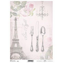 Papier do decoupage ITD SOFT 256 - Paryż
