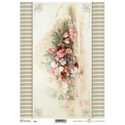 Papier do decoupage ITD SOFT 261 - Bukiet kwiatów
