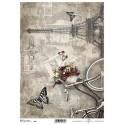Papier do decoupage ITD SOFT 271 - Rower