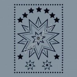 Szablon A4 Cadence AS491 - Gwiazdy