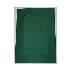 Kartka passe-partout prostokąt zielona jodłowa
