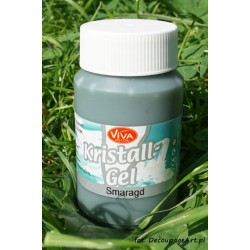 Kristall Gel 125 ml - Szmaragd