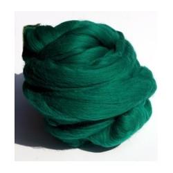 Czesanka merynos australijski 50g - 1501 zielony