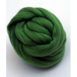 Czesanka merynos australijski 50g - 1206 jasno-zielony
