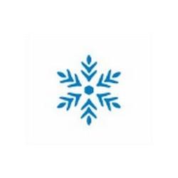 Szablon GH 12 x 15 cm - 27 śnieżynka 1