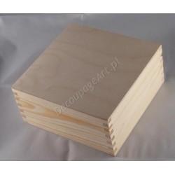 Pudełko kwadratowe duże