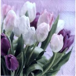 Serwetki do decoupage - tulipany