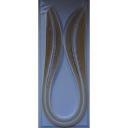 Paski do quillingu 100szt. 5mm/50cm odcienie od białego dożółtego
