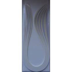 Paski do quillingu 100szt. 5mm/50cm Biało- perłowe