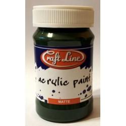 Farba akrylowa Craft Line 100 ml - pine green