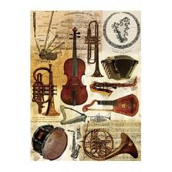 Papier Ryżowy Cadence 047 Instrumenty muzyczne