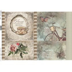 Papier do decoupage ITD 518