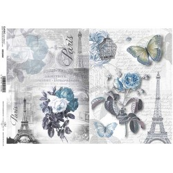 Papier do decoupage ITD 534