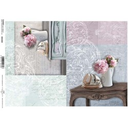 Papier do decoupage ITD 544