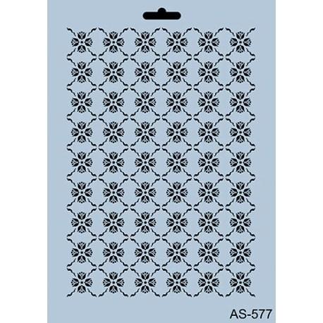 Szablon A4 Cadence AS577- Drobne kwiatki