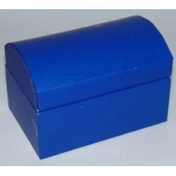 Kuferek z kartonu granatowy 9,5 cm