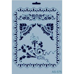 Szablon A4 Cadence AS575 - Ramka i ornamenty