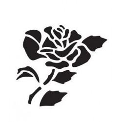 Szablon 15x20 cm - 851 róża