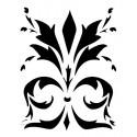 Szablon 15x20 cm - 993 ornament liście