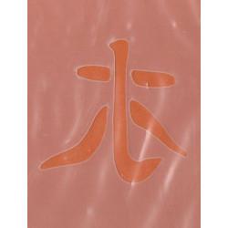 Szablon laserowy 6 x 13,5 cm - shui