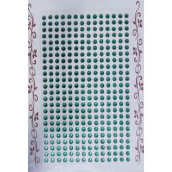 Kryształki samoprzylepne czarne 4 mm
