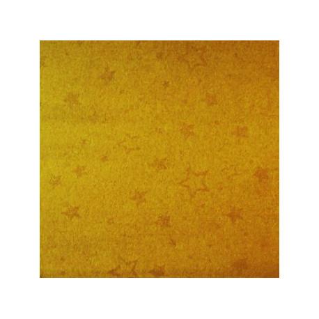 Karton dwustronny w złote gwiazdki biały