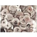 Cekiny metaliczne srebrne błyszczące 7gr