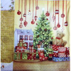 Serwetki do decoupage - świąteczne prezenty