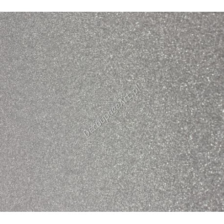 Karton brokatowy srebrny 250 gr
