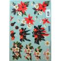 Motywy 3D Boże Narodzenie do dekorowania kartek gwiazda betlejemska