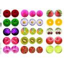 Papier do decoupage ITD 274 - Owoce i kwiaty