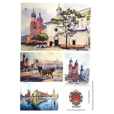 Papier ryżowy Kraków 002