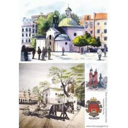 Papier ryżowy Kraków 003