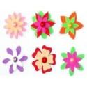 Kwiatki z mikrogumy